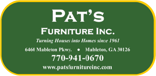 Pat's Furniture  Logo